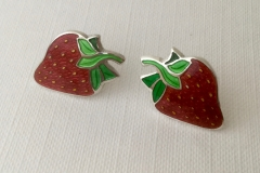 7 Strawberry earrings